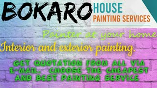 BOKARO    HOUSE PAINTING SERVICES ~ Painter at your home ~near me ~ Tips ~INTERIOR & EXTERIOR 1280x7