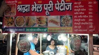 Delhi's Famous Shradha Bhelpuri & Pettis   Mayur Vihar 3 , New Delhi