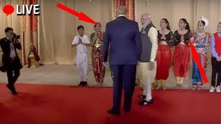 What Happens When Modi Meets President Trump in USA ||  Indian community event in Houston, USA