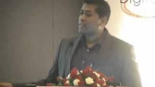 Mr. Cherian Varghese,  Oracle India  on Western India IT Fair 2011 (WIITF-2011), Mumbai