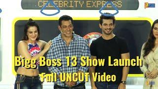 UNCUT: Bigg Boss 13 Show Launch - Salman Khan,Amisha Patel, Pooja Bose,Arjun Bijlani,Sana Khan