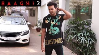 Riteish Deshmukh Spotted At Sunny Super Sound Juhu For Dubbing Of Film Baaghi 3