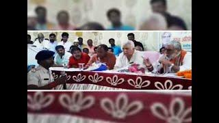Watch: Union Minister Ashwini Choubey threatens cop