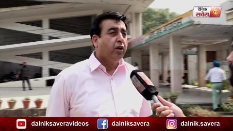 Exclusive Interview: Dakha में मेरे मुकाबले में कोई नहीं: Congress Candidate Sandeep Sandhu