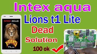 Intex Aqua Lions T1 Dead Solution 100% ok - no power || Intex Aqua Lion T1 Pcb Short Dead Problem