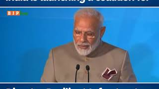 India is launching a coalition for Disaster Resilient Infrastructure : PM Modi in UN