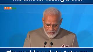The time for talking is over, the world needs to act now : PM Modi in United Nation