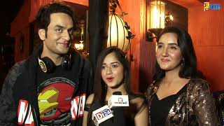 Jannat Zubair Rahmani & Ashnoor Kaur At Mr. Faizu & Team 07 Nazar Na Lag Jaaye Song Success party