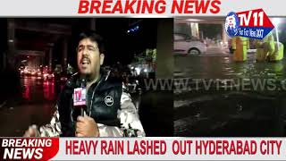 HEAVY RAIN LASHED OUT HYDERABAD CITY