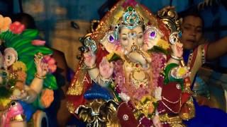 गणपति विसर्जन पांचवें दिन के || Ganpati Visarjan 5th Days || गणेश जी की विदाई || Mumbai Live 2019