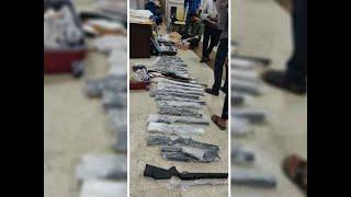 Tamil Nadu: Customs officials seize 23 air guns at Madurai Airport