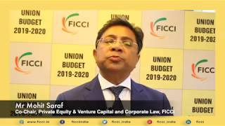 This Budget acknowledges the role that corporate India plays: Mohit Saraf