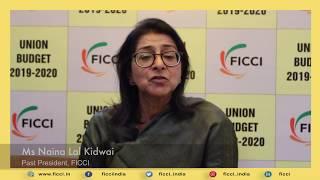 The budget has been strong on vision: Naina Lal Kidwai