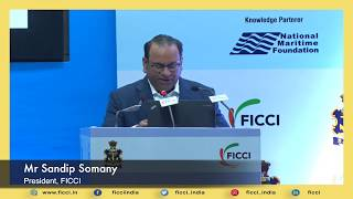 Shipbuilding sector should become the flagship Make in India program: FICCI President
