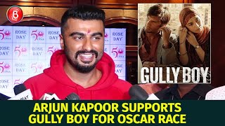 Arjun Kapoor Is All Praise For Ranveer Singh's Gully Boy Entering The Oscar Race
