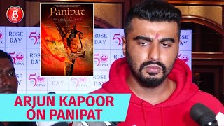 Arjun Kapoor Reveals Details About Shooting Panipat With Sanjay Dutt & Kriti Sanon