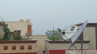 Heavy Rain Fall Continuing At Bhubaneswar,Odisha,India.