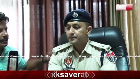 Exclusive Interview with SP Pathankot H.P Sharma on Security arrangements after Alert