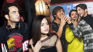 Vikas Gupta And Jannat Zubair At Nazar Na Lag Jaye Song Success Party | Mr Faisu And Team07