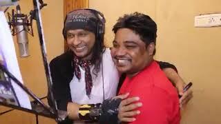 Vinod Rathor ||Santosh Raj || Recording For Bhojpuri Song