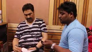 Kumar Sanu||Santosh Raj|| Recording For Bhojpuri Song