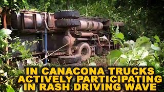 CANACONA: Trucks Actively Participating In Rash Driving Wave