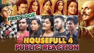 HOUSEFULL 4 First Look | PUBLIC REACTION | Akshay Kumar, Bobby, Riteish, Kriti Sanon, Pooja Hegde