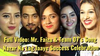UNCUT: Mr. Faizu, Jannat, Ashnoor,Jasleen & Team 07 Song Success & Ramji Gulati Birthday Celebration