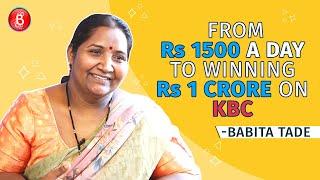 KBC Winner Babita Tade's Epic Life Journey From Rs 1500 A Day To Winning 1 Crore   Amitabh Bachchan