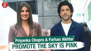 Farhan Akhtar & Priyanka Chopra's Promotional Activity Of The Sky Is Pink