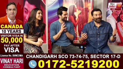 Sunny Deol ਨੇ ਦੱਸਿਆ ਅਗਲੀ Film 'ਚ Dharmendra ,Bobby Deol 'ਤੇ Karan Deol ਇਕੱਠੇ ਕੰਮ ਕਰਨਗੇ | Dainik Savera