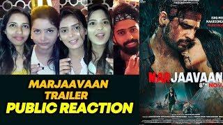 Marjaavaan Trailer | PUBLIC REACTION | Riteish Deshmukh, Sidharth Malhotra,Tara Sutaria
