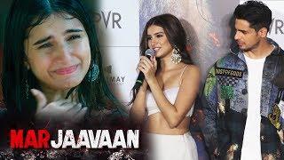 Tara Sutaria Plays A MUTE Girl In Marjaavan | Trailer Launch