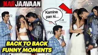 Marjaavaan Trailer Launch | Back To Back Funny Moments | Riteish Deshmukh, Sidharth Malhotra,Tara