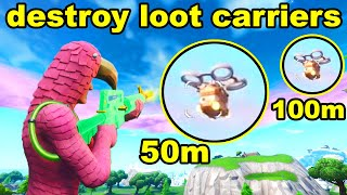DESTROY LOOT CARRIERS FROM 50m AWAY n DESTROY LOOT CARRIERS FROM 100m away - BULLSEYE CHALLENGES