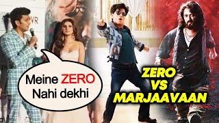 Riteish Deshmukh Reaction On Shahrukh's Flop Film ZERO | Marjaavaan Trailer Launch