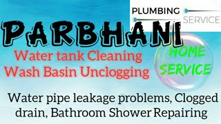 PARBHANI    Plumbing Services ~Plumber at your home~ Bathroom Shower Repairing ~near me ~in Buildi