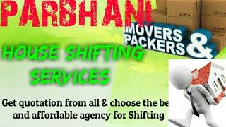 PARBHANI    Packers & Movers ~House Shifting Services ~ Safe and Secure Service ~near me 1280x720 3