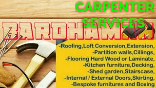 BARDHAMAN    Carpenter Services  ~ Carpenter at your home ~ Furniture Work  ~near me ~work ~Carpente