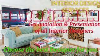 BARDHAMAN     INTERIOR DESIGN SERVICES ~ QUOTATION AND PRESENTATION~ Ideas ~ Living Room ~ Tips ~Bed