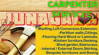 JUNAGADH    Carpenter Services  ~ Carpenter at your home ~ Furniture Work  ~near me ~work ~Carpenter