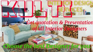 KULTI   INTERIOR DESIGN SERVICES ~ QUOTATION AND PRESENTATION~ Ideas ~ Living Room ~ Tips ~Bedroom 1