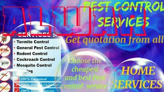 ALWAR   Pest Control Services ~ Technician ~Service at your home ~ Bed Bugs ~ near me 1280x720 3 78M