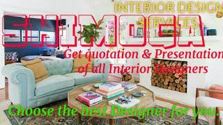 SHIMOGA     INTERIOR DESIGN SERVICES ~ QUOTATION AND PRESENTATION~ Ideas ~ Living Room ~ Tips ~Bedro