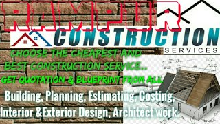 RAMPUR    Construction Services ~Building , Planning,  Interior and Exterior Design ~Architect  1280