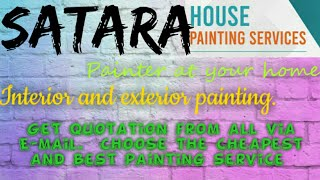 SATARA    HOUSE PAINTING SERVICES ~ Painter at your home ~near me ~ Tips ~INTERIOR & EXTERIOR 1280x7