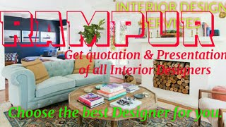 RAMPUR    INTERIOR DESIGN SERVICES ~ QUOTATION AND PRESENTATION~ Ideas ~ Living Room ~ Tips ~Bedroom