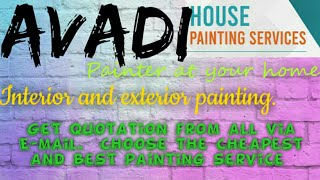 AVADI   HOUSE PAINTING SERVICES ~ Painter at your home ~near me ~ Tips ~INTERIOR & EXTERIOR 1280x720