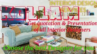 KOLLAM    INTERIOR DESIGN SERVICES ~ QUOTATION AND PRESENTATION~ Ideas ~ Living Room ~ Tips ~Bedroom