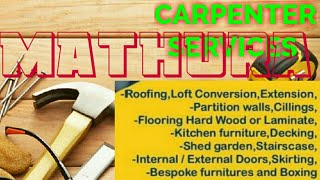 MATHURA    Carpenter Services  ~ Carpenter at your home ~ Furniture Work  ~near me ~work ~Carpentery